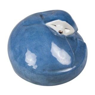 Ceramic Sleeping Cat by Edouard-Marcel Sandoz