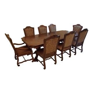 Stanley Pedestal Dining Set