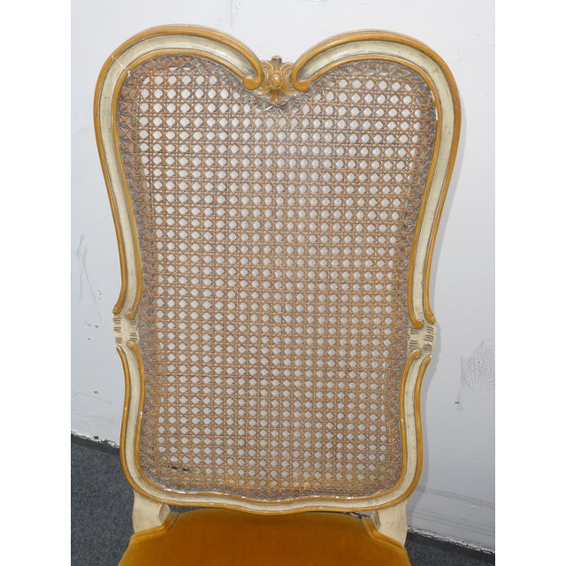 Vintage Karges Louis XV Style Cane Back Chairs - Image 7 of 11