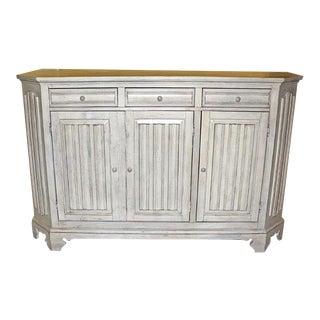 Whitewashed Sideboard Server