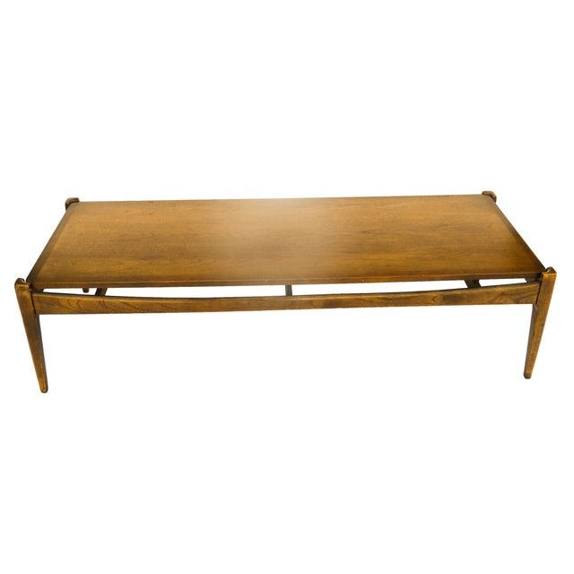 Bassett Mid-Century Modern Coffee Table - Image 4 of 10