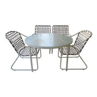 Brown Jordan Mid-Century Modern Patio Set