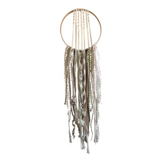 Macramé Dream Catcher Wall Hanging
