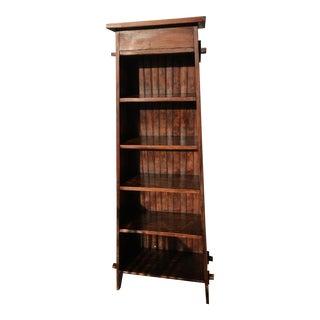Roycroft Magazine Pedestal Style Bookshelf