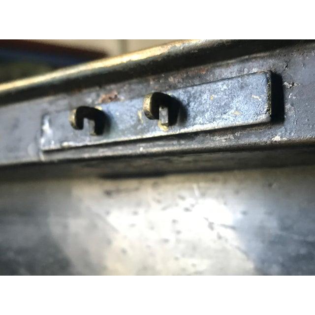 Large English Metal Strong Box - Image 6 of 11