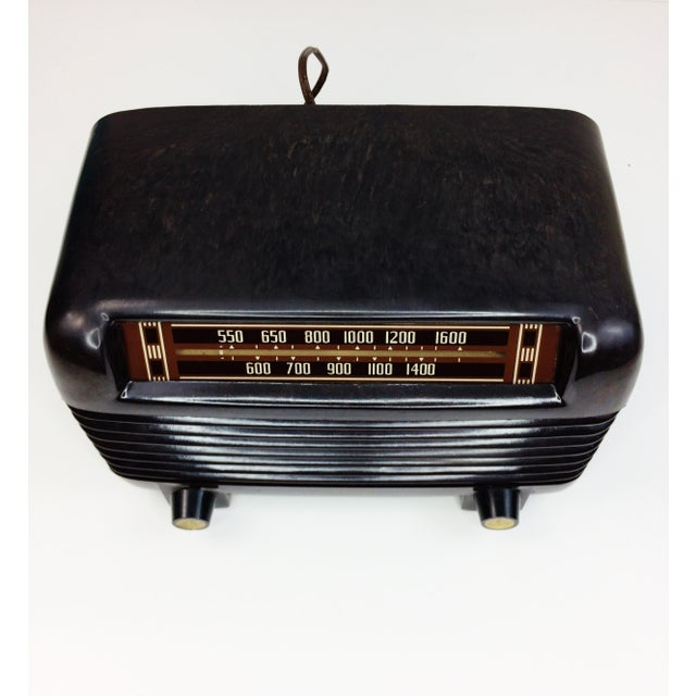1946 Vintage Philco Transitone Tube Am Radio - Image 3 of 7