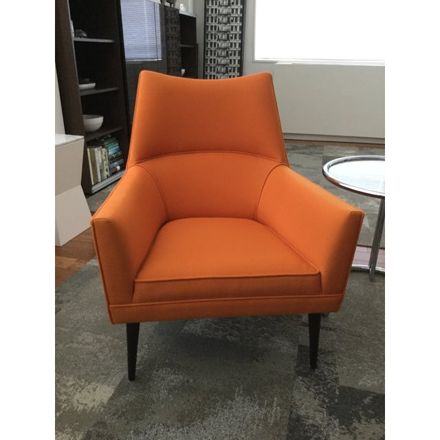 Paul McCobb Orange Squirm Chairs - a Pair - Image 2 of 5