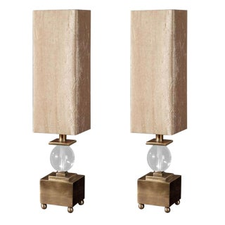 Transitional Table Lamps - A Pair