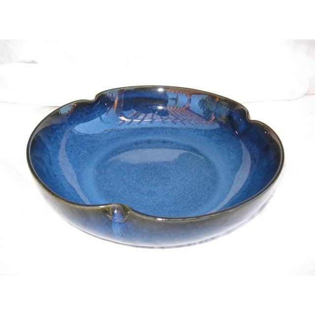 Indigo Pottery Catchall Bowl - Image 2 of 7