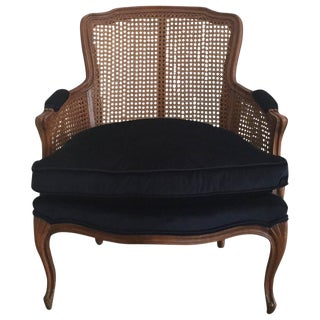 1940s Cane Back French Bergere