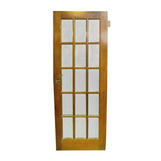 Single Pine French 15 Panel Door