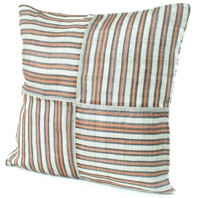 Striped Hinabol Pillows - Pair - Image 2 of 3