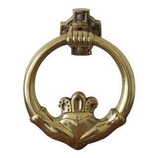 Brass Celtic Knot Door Knocker
