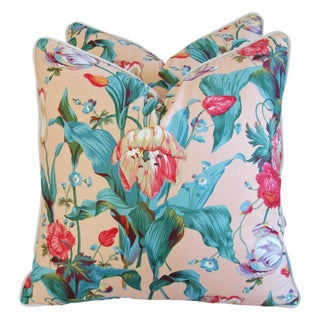 Brunschwig Fils Tulip Down/Feather Pillows - Pair