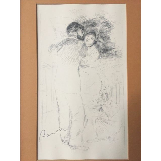 "Vintage Renoir Reprint ""Dance at Chatou"" - Image 3 of 7"