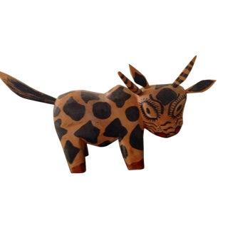 Peruvian Wooden Bull