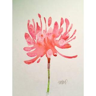 """""""Burst"""" Original Watercolor Painting"""
