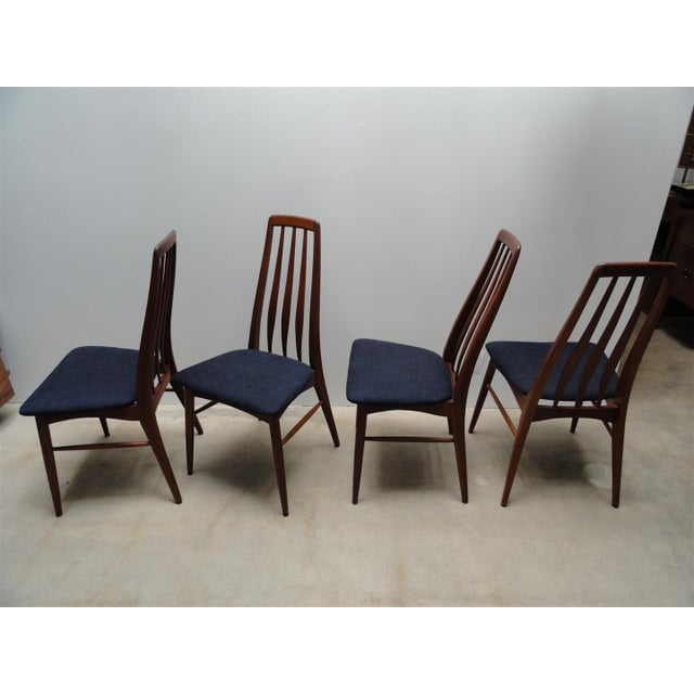 Image of Danish Modern Eva Dining Chairs by Koefoeds Hornslet - Set of 4