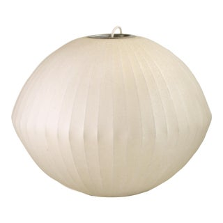 George Nelson for Howard Miller Fiberglass Lamp