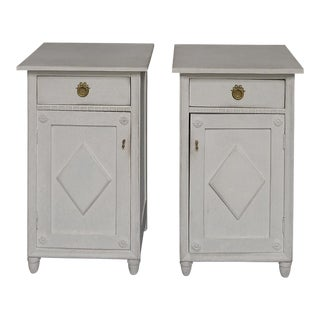 Pair of Antique Swedish Nightstands (#62-55)