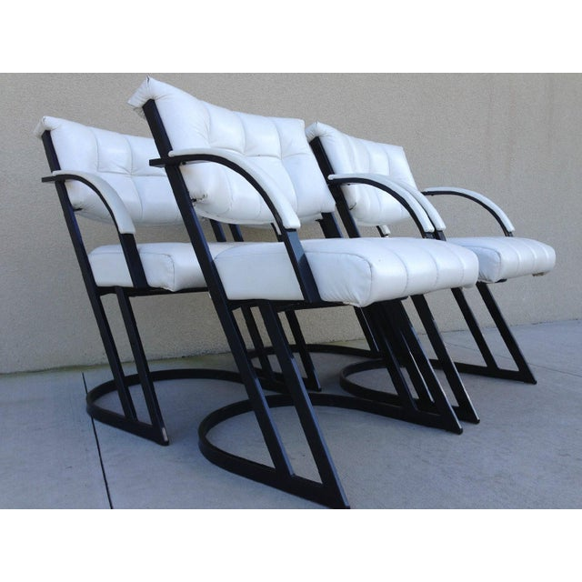 Mid-Century Z-Bar Armchairs by Cal-Style - Image 3 of 8
