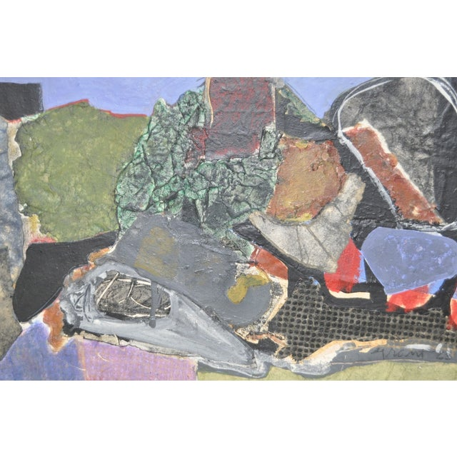 Image of James Grant (1924–1997) Mixed Media Abstract 1963