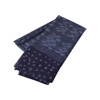 Nigerian Indigo Textile, Adire Alabere
