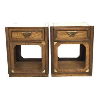 Vintage Thomasville Nightstands - A Pair