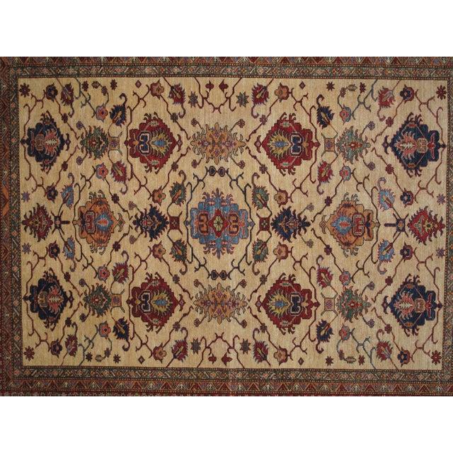 """Image of Leon Banilivi Super Kazak Carpet - 9'10"""" X 8'"""