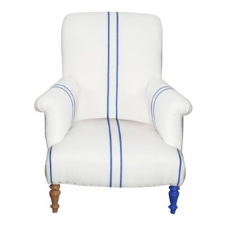 Bunakara Blue Fingerprint Chair