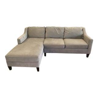 "West Elm ""Paidge"" Chaise Sofa"