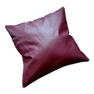 Gambrell Renard Leather Pillow