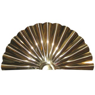 Curtis Jere Brass Fan