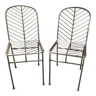 Selamat Designs Leaf Side Chairs - A Pair