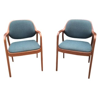 Don Petitt for Knoll Bentwood Chairs - A Pair