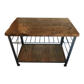 Croft House Railcar Kitchen Island