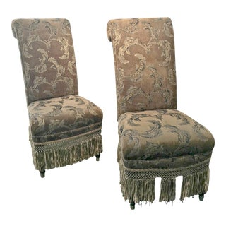 Drexel Heritage Accent Slip Chairs - A Pair