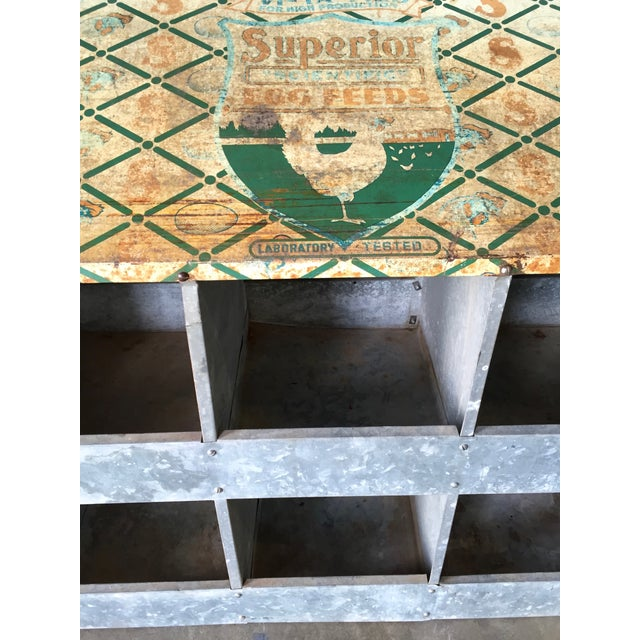 Vintage Chicken Coop Industrial Shelving - Image 5 of 8