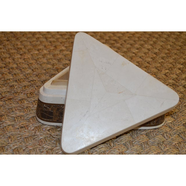 Triangle Tessellated Stone Trinket Box - Image 10 of 11