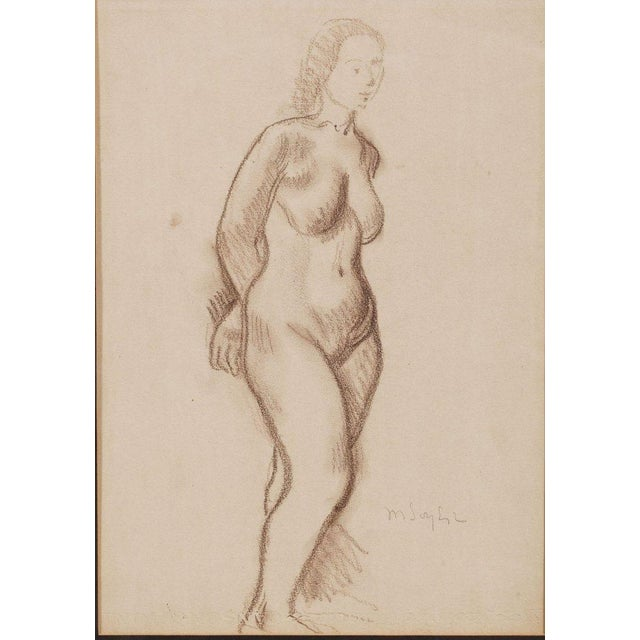 Image of Moses Soyer (Russian/American, 1899-1974) Nude
