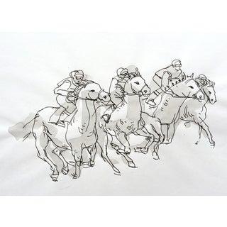 Original Painting - Horse Race II
