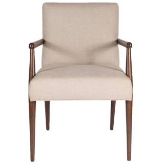 Sheppard Dowel Leg Arm Dining Chair