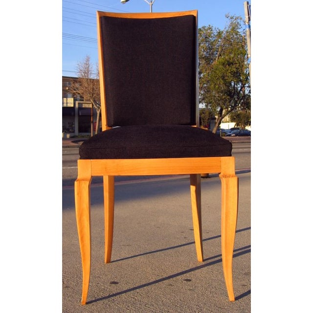 Image of French 1940s Dining Chairs by M. Jallot - Set of 6