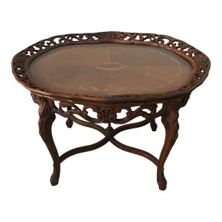 Louis XV Walnut Tea Table