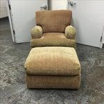 Image of J.F. Fitzgerald Tweed Chair & Ottoman