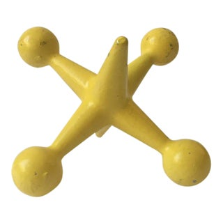 Modern Yellow Iron Jack