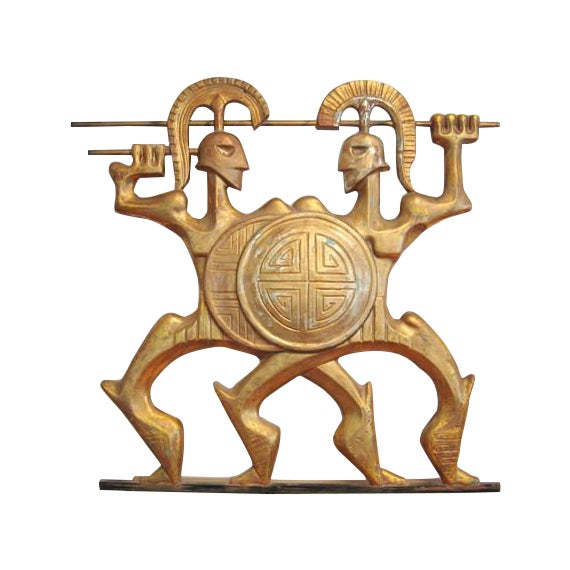 Frederick Weinberg Wall Sculpture - Image 1 of 6