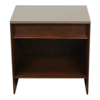 Walnut Nightstand by T.H. Robsjohn-Gibbings