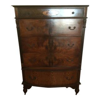 Walnut & Ash Chest of Drawers