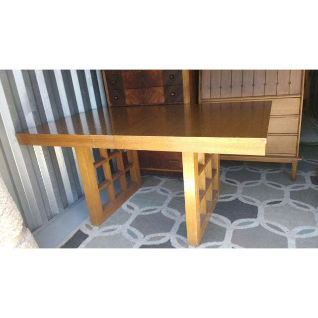 Mid-Century Walnut Dining Table - Image 2 of 5
